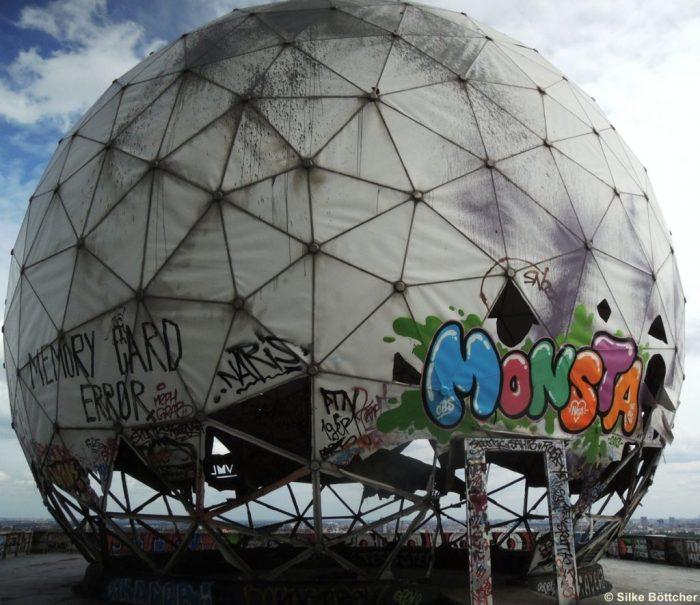 Kuppel auf dem Teufelsberg Foto: Silke Böttcher